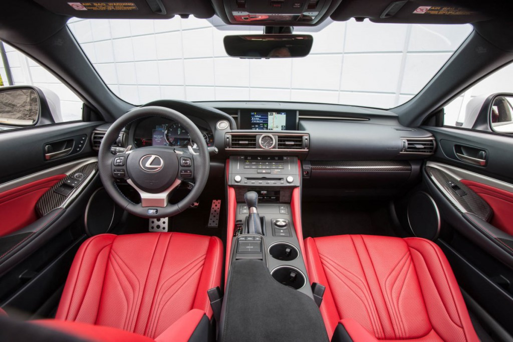 Lexus_RC F_Interior_1
