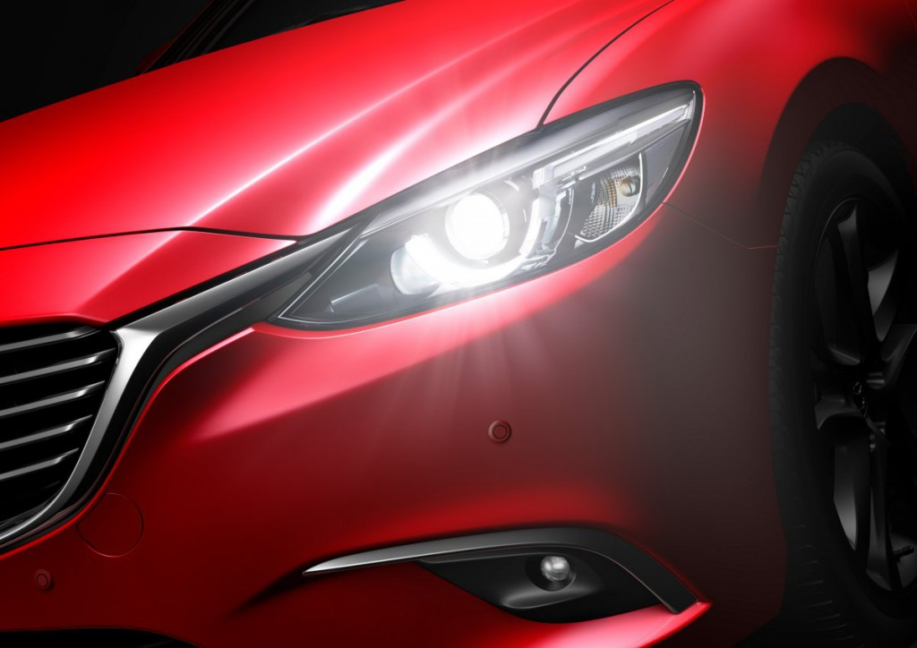 Mazda6 2015_headlight